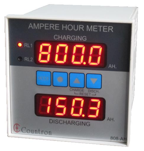 Amp Hour Meter : All about the amp hour meter countronics